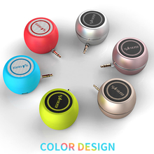 Outdoor Speaker HIFI Round 3D Surround 3.5mm Aux Audio Jack Mini Wireless Stereo Music Surround Portable Phone Speaker Subwoofer цены онлайн