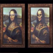creepy 3d ghost photos frame horror skull variable picture frame scary halloween party decoration haunted house