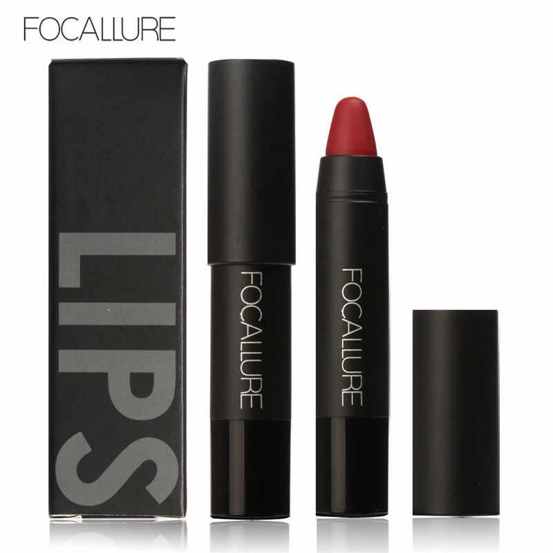 FOCALLURE Mate pintalabios labios maquillaje cosméticos impermeable Mate brillo labial resistente al agua de larga duración maquillaje labios