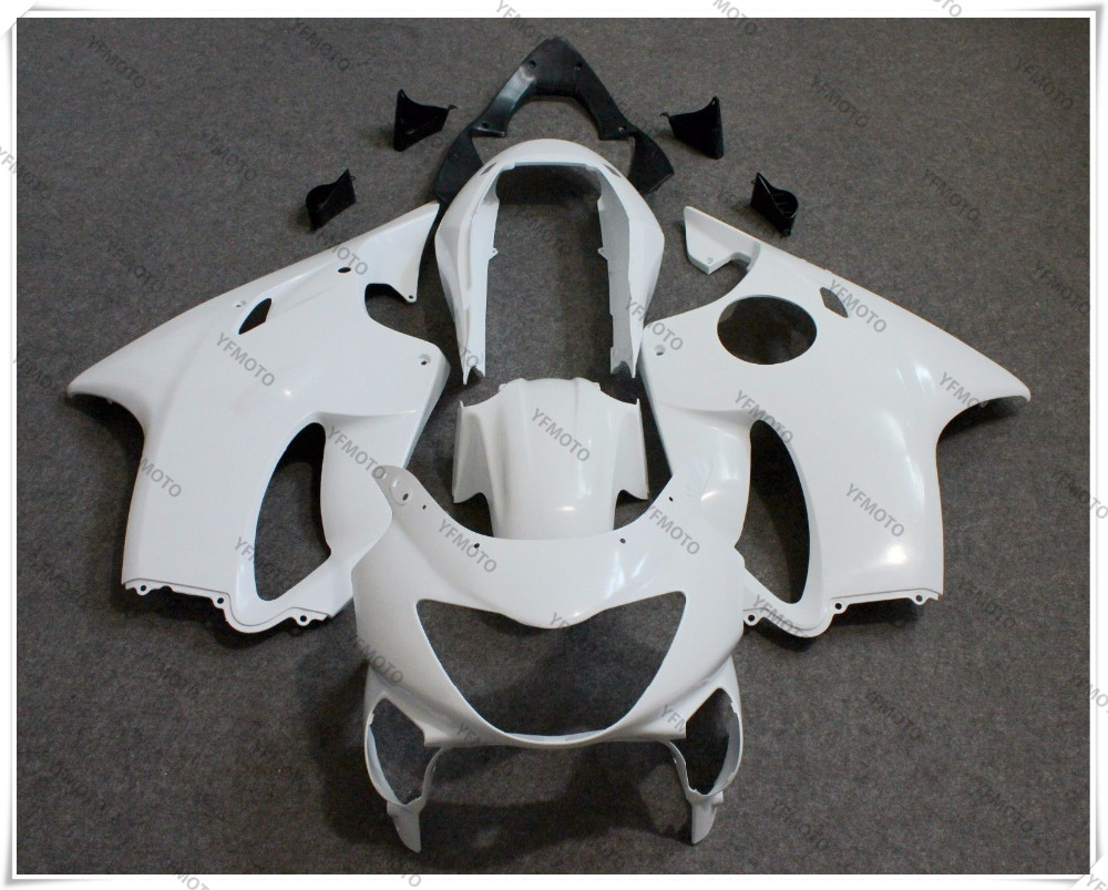 Motorcycle Unpainted White ABS Fairing Body Work Cowling KIT For HONDA CBR600F CBR 600F F4 1999-2000 +3 Gift