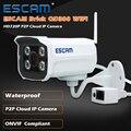 Escam qd300 mini bala cámara ip wifi hd 720 p onvif P2P IR Exterior de Vigilancia de Visión Nocturna de Seguridad CCTV Cámara Android teléfono