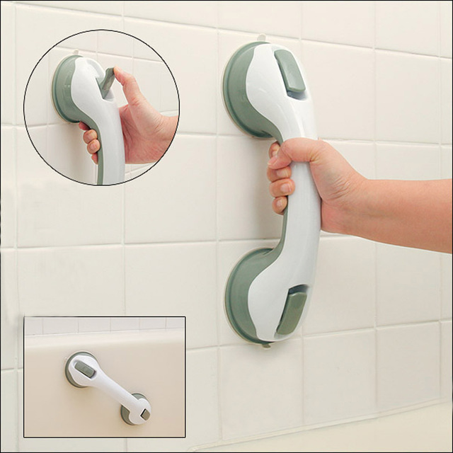 Strong Suction Cup Grab Bar Wall Hanger Bathroom Accessories ...