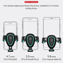 USAMS Gravity Car Phone Holder for Smartphone