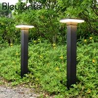 Outdoor Lawn Lamp Waterproof LED Fence Garden Light Simple Modern Landscape Light Park Lawn Lamps Home Street lights BL106