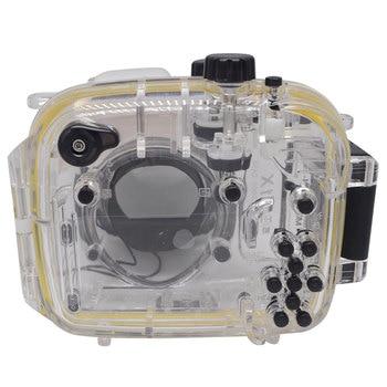 Mcoplus 40m/130ft Camera Underwater Waterproof Housing Diving Case for Canon Powershot G1X WP-DC44