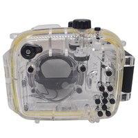 Mcoplus 40m/130ft Camera Underwater Waterproof Housing Diving Case for Canon Powershot G1X WP DC44