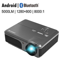Best Buy CAIWEI 1080p Full HD 4200LM HDMI Home TV Movie LED Projector with Android Bluetooth Wifi Function Cinema Theater Multimedia