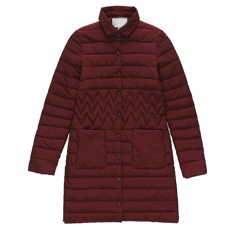YTNMYOP Wadded Jacket Thin Medium-long Fashion Winter Coat Women Down Cotton-padded   Parka   Casual Outerwear Girls Plus Size 3XL