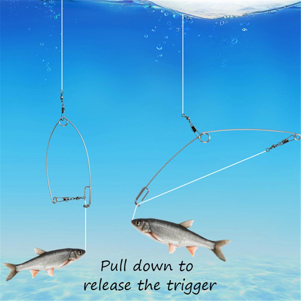 Automatic Fishing Catapult Hook Lazy Fishing Tools High Efficiency Fishing tackle in Fishhooks from Sports Entertainment