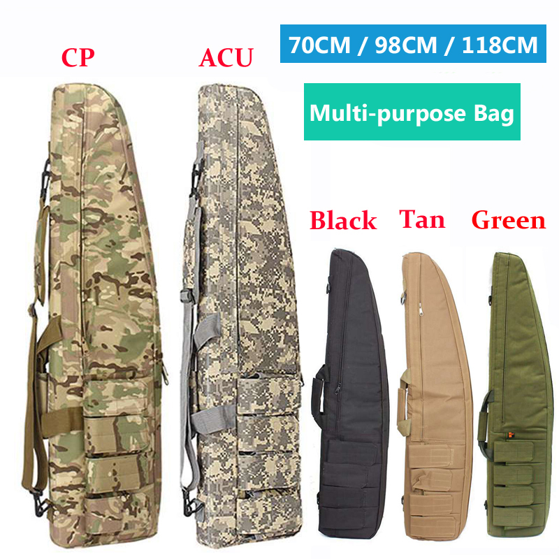 Multi-purpose Outdoor Military Equipment Tactical Gun Bag Hunting Rifle Case Airsoft Bag Fishing Hiking Sport Protection Bag