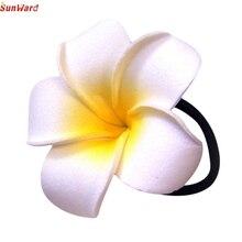 SunWard Classy Girls Flower Wedding Bride Headwear Hairring Coil Hair Band 1PC