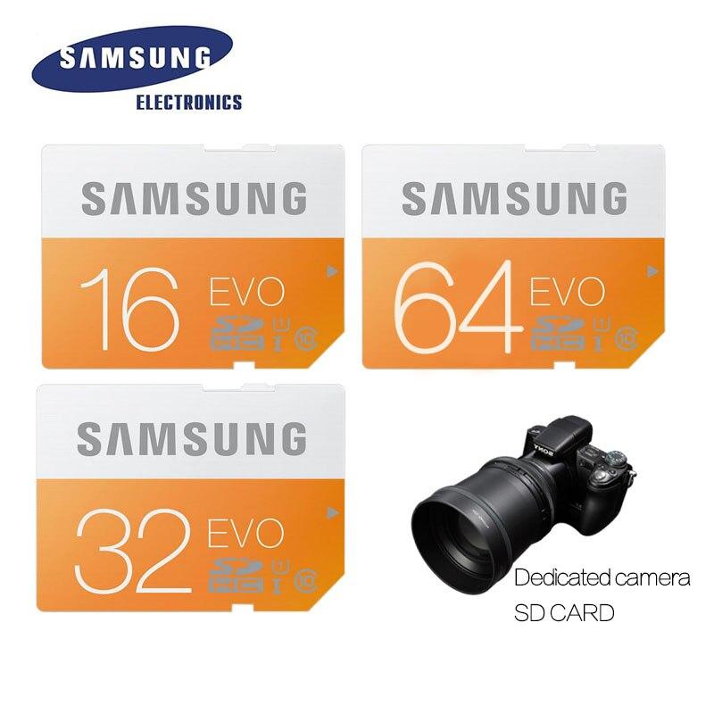 SAMSUNG Memory Card 64G C10 UHS I SD 48M EVO SD Card Class 10 SDHC SDXC