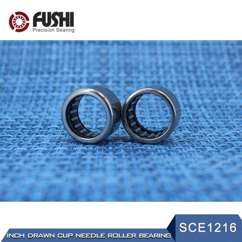 SCE1216 Bearing 19.05*25.4*25.4 Mm ( 5 PCS ) Drawn Cup Needle Roller Bearings B1216 BA1216Z SCE 1216 Bearing