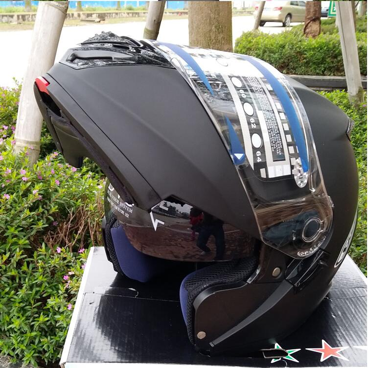Four Seasons full-covered anti-fog motorcycle full face double lens reveal helmetFour Seasons full-covered anti-fog motorcycle full face double lens reveal helmet