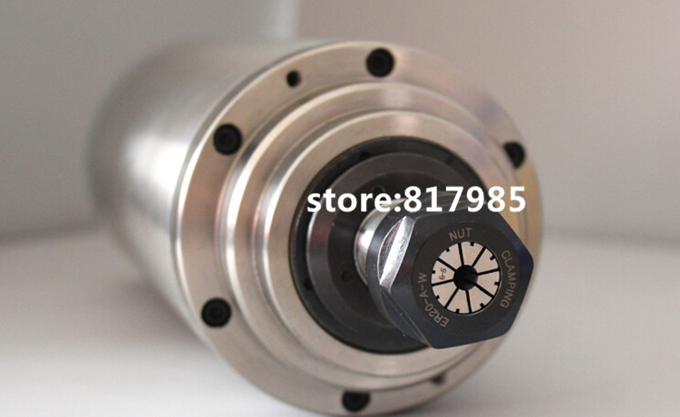 Excellent 3kw Spindle Motor 220v 380v Er20 4 Bearings