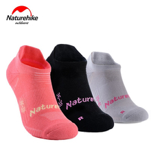 Naturehike Unisex 3 pairs Ankle Socks Outdoor Backpacking Running Sweat Absorbing Qucik-dry Sports NH17A015-M