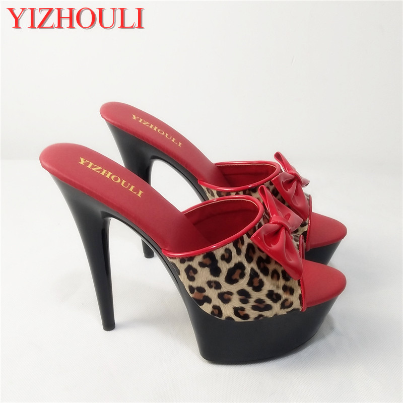 15cm Sexy High Heeled Shoes Crystal Sandals Sweet Rhinestone Sexy Shoes Bride Wedding Shoes Heels Platform