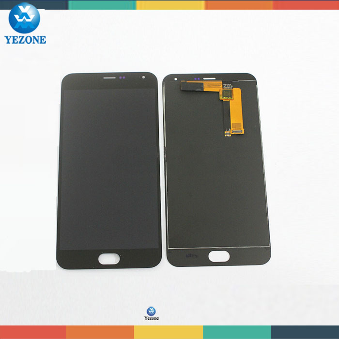 OEM New MEIZU LCD Display + Digitizer Touch Screen Assembly Replacement For Meizu M2 Note Cell Phone 5.5 inch 1920*1080 Black