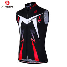 X-Tiger Pro Cycling Vest Summer Racing Bicycle Clothing Maillot Ciclismo Sportwear Sleeveless Mountain Bike Cycling Jersey(China)