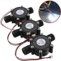 10W Water Turbine Generator Micro Hydroelectric DIY LED Power DC 5V NEW