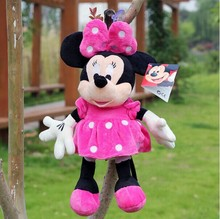 small little plush mickey mouse toy small plush pink girl minne mouse dolls gift about 35cm