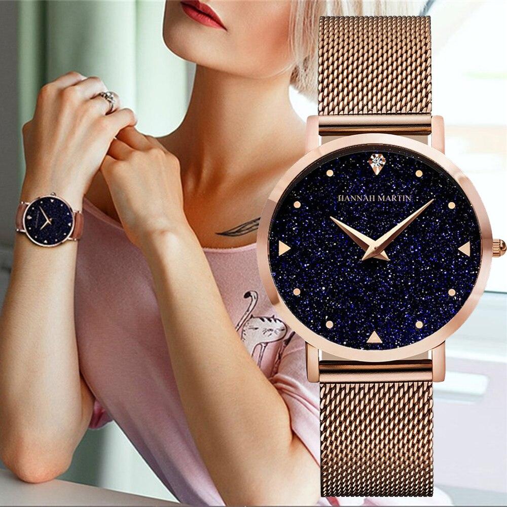 Dropshipping Fashion Silver Mesh Quartz Watch Women Metal Stainless Steel Dress Watches Relogio Feminino Gift Clock Reliable Performance Watches
