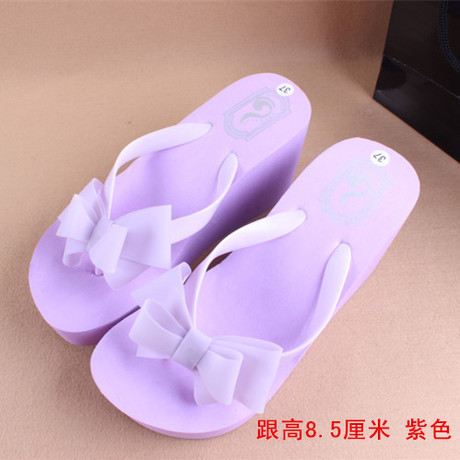 3.28 Anniversary Sale Price 2017 New Sandal Woman Flip Flops,Ladies' Elegant Flat Sandals Wedges Platform Sandals Beach Slippers