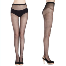 2017 New Arrival Fashion Women's Net Fishnet Bodystockings Sexy Clear Bling Crystal Decorated Pattern Pantyhose Tights Stockings