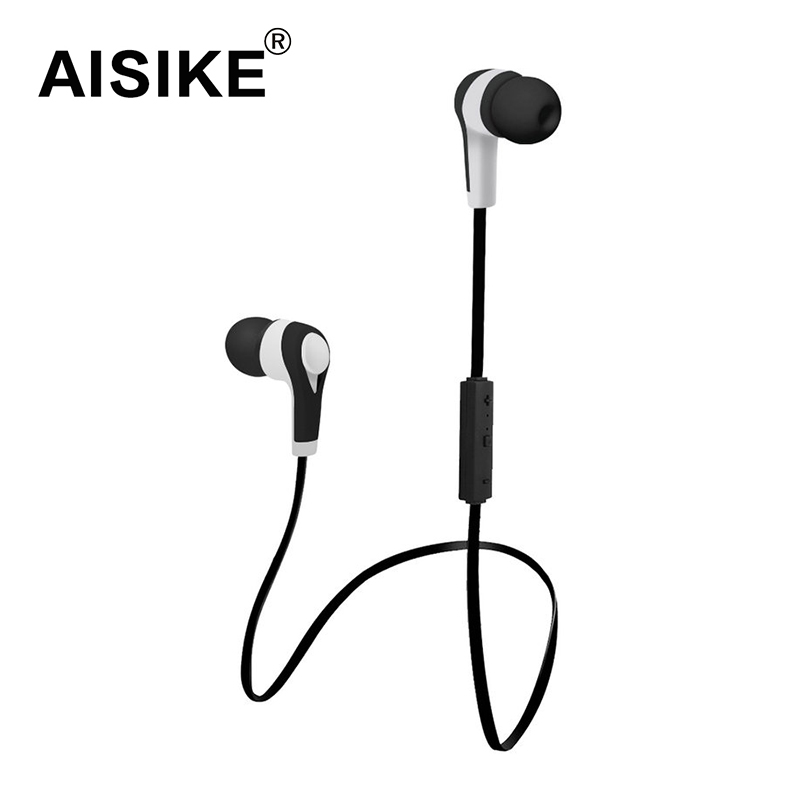 AISIKE Bluetooth Wireless stereo Headset In-Ear Sweatproof Running Earbuds with Mic for iPhone 6s Plus Samsung Galaxy S6 S5 new arrival carburetor for type br500 br550 br600 backpack blower c1q s183 carb set gaskets primer bulb with fuel line fuel