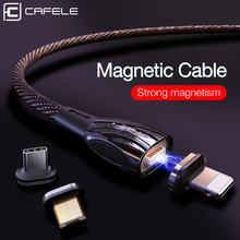 Cafele QC3.0 Magnetic USB Cable For iPhone Type C Micro Charge X XS Xiaomi 9 Huawei P30 Pro Charging Wire