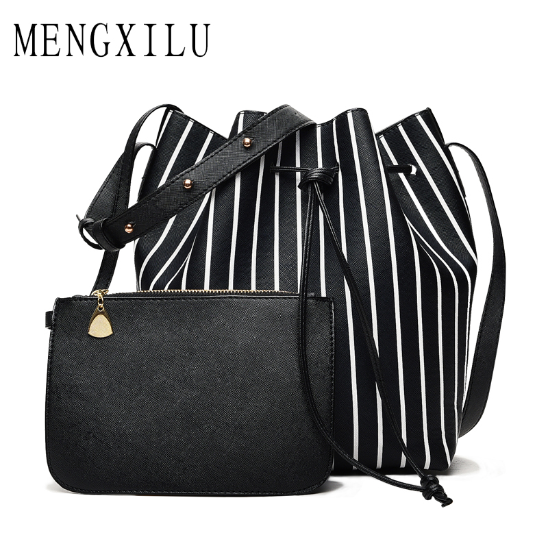 MENGXILU Fashion Women Bag Small Single Shoulder Crossbody Bags For Women Leather Handbags PU Leather Female Messenger Purse New yuanyu 2018 new hot free shipping import crocodile women chain bag fashion leather single shoulder bag small dinner packages