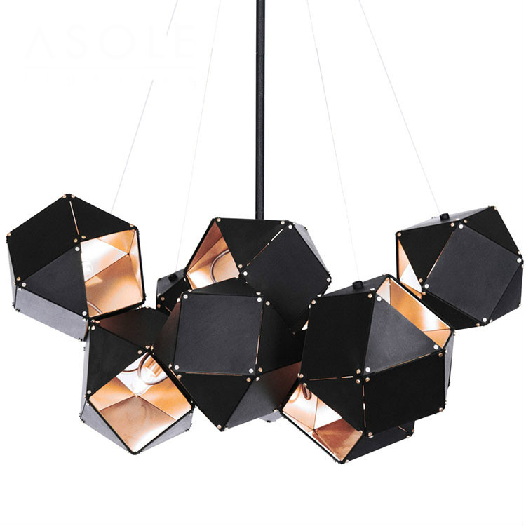 Modern Creative Nordic Magic Metal Welles Led E14 Pendant Light For Living Room Dining Room Restaurant Shop Deco 1854 modern fashion luxurious rectangle k9 crystal led e14 e12 6 heads pendant light for living room dining room bar deco 2239