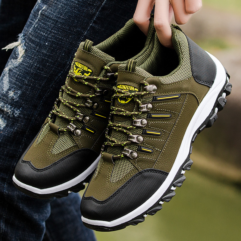 2019 spring and autumn new men sports shoes casual running Male Sneakers tide old man outdoor hiking travel shoes Jogging Footwe zapatillas de moda 2019 hombre