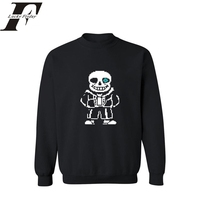Cartoon Skeleton Pattern Mens Hoodies And Sweatshirts 2016 Black Gray Streetwear Sweatshirt Men Women Luxury Xxl