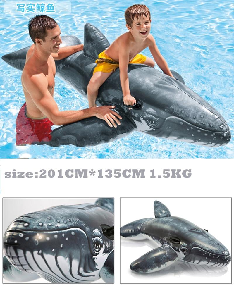 Gyermekek Állati medence úszik felfújható állat úszó gyerekek - Vízi sportok - Fénykép 6