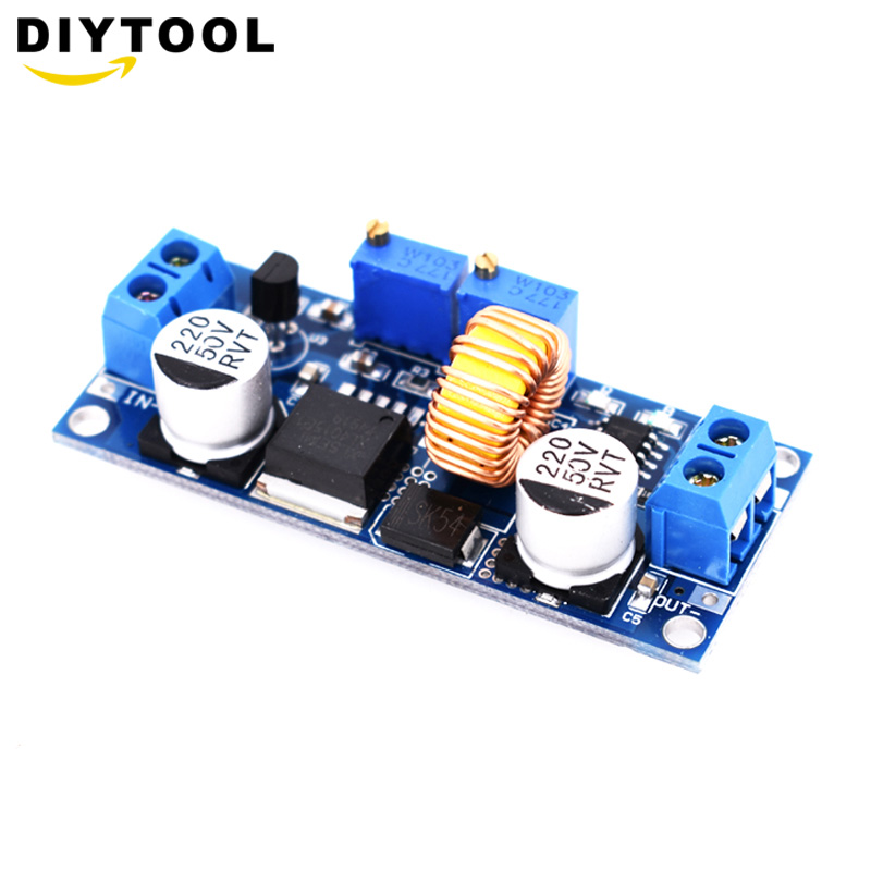 5A DC to DC CC CV Lithium Battery Step down Charging Board Led Power Converter Lithium Charger Step Down Module