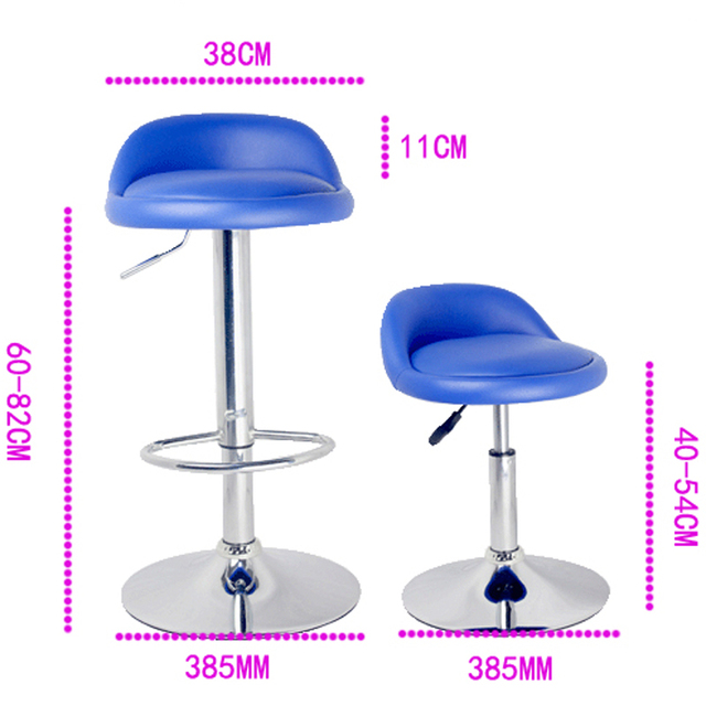 Promotional Price Bar Chairs Reception Bar Stools Height Adjustable Chair  Shall Lift Home Stool