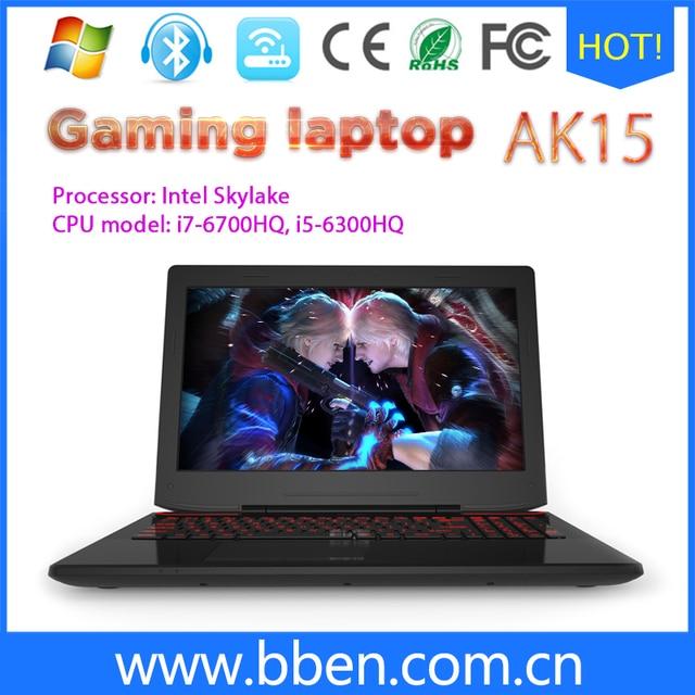 BBen Windows10 Ноутбук Ultrabook i7-6700HQ Quad Сердечники DDR4 16 Г RAM SSD 128 Г HDD 500 Г ROM 2.60-3.50 ГГц Клавиатура С Подсветкой
