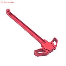 Pb игрушки Тактический обновленный материал ручка-бабочка тяга ручка AR тяга ручка M4 GBB M16 красный бластер аксессуары QD07