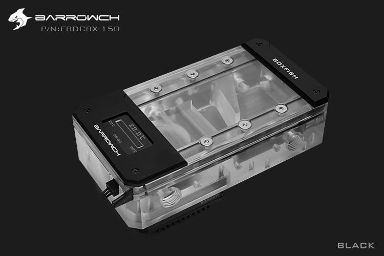 Barrowch FBDCBX, Digital Display PWM 17W Pump With Reservoir Combinations, Box Fish DDC Series, Integrated Pump + Reservoir