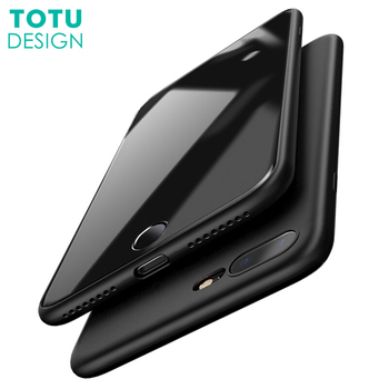 TOTU Liquid Silicone Rubber Case For iPhone 8 Luxury Coque Ultra Thin Slim Soft TPU Cover For iPhone 8 7 Plus Fundas Capinha iPhone 8