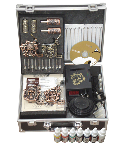 complete tattoo kits for sale makeup permanent machine set 4 digital tattoo machine tattoo machine equipment