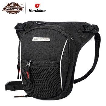 Bolsa impermeable para motocicleta HEROBIKER, bolsa cartuchera para motocicleta, bolsa cartuchera para SILLÍN de Moto, bolsas multifunción para exteriores, bolsillos para hombres y mujeres