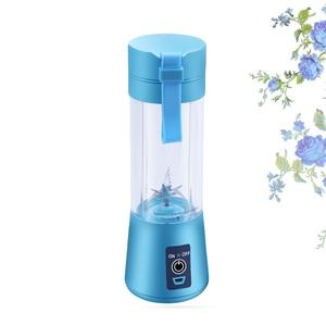 Image 5 - 휴대용 주스 블렌더 USB Juicer 컵 다기능 과일 믹서 2 4 6 블레이드 믹싱 머신 Dropshipping 레드 블랙 그린 블루 Pu