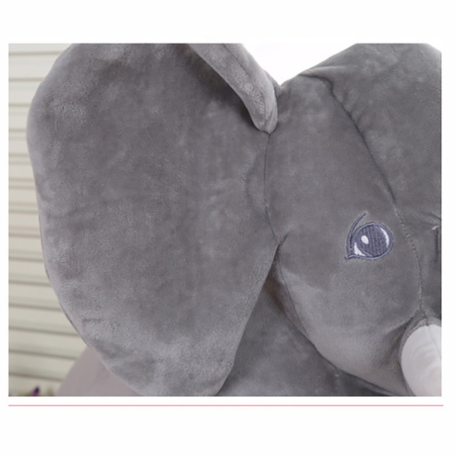 Cute Elephant Toy Plush Pillow