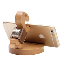 Wooden Mobile Phone Holder