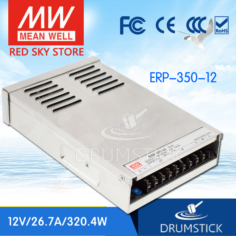 все цены на leading products MEAN WELL ERP-350-12 12V 26.7A meanwell ERP-350 12V 320.4W Single Output Switching Power Supply онлайн