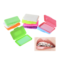 5 Pieces/Pack Dental Orthodontics Ortho Wax Mint Mix Scent For Braces Gum Irritation Oral Hygiene Teeth Whitening Tool