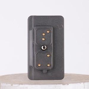 Image 4 - Walkie talkie auricular inalámbrico con Bluetooth, dispositivo de audio con Radio bidireccional para Hytera PD780 PD700 PD580H