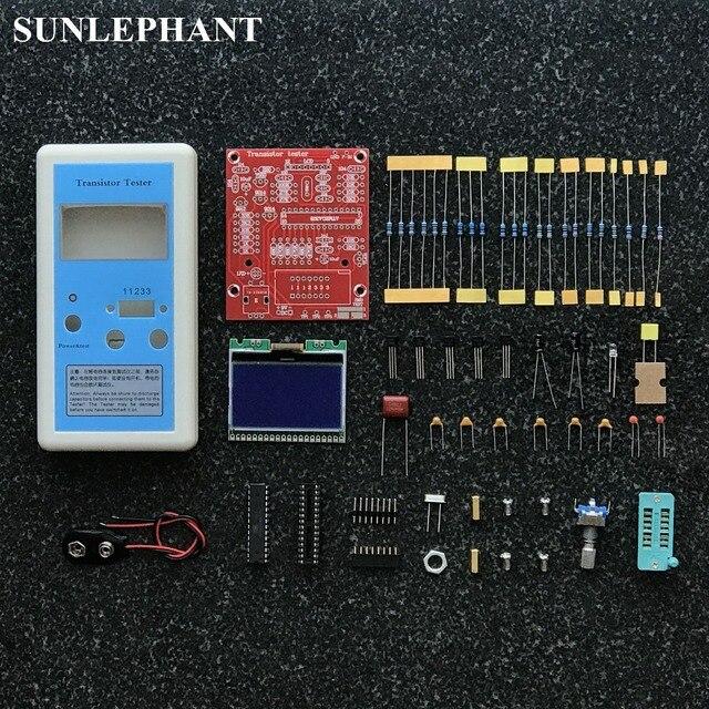 DIY kit для измерения индуктивности резистор конденсатор диод M12864 DIY kit тестер Транзистор
